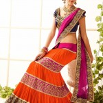 Lucknow Embroidery Sarees